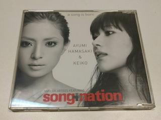 Ayumi Hamasaki & Keiko A Song Is Born Single Cd De Musica