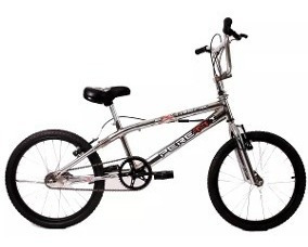 Bicicleta Peretti Rod20 Freestyl Extreme Ii Cromada