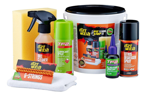 Kit Pit Stop Cleaning Kit Dirtwash Weldtite