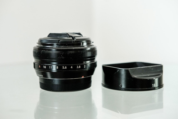 Lente Fujifilm Fujinon Xf 18mm R F/2 P/ Xpro2 Xt2