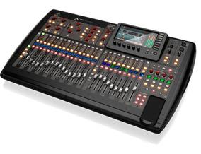 Mesa De Som Digital X32 Behringer Full 2 Anos Garantia + Nf