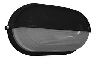 Tortuga Oval Aluminio Con Visera Grande 28cm Apto Led