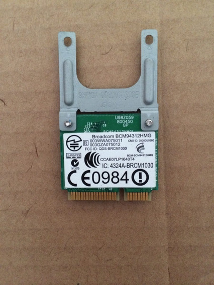 Placa De Rede Mini Pci Wireless Broadcom Bcm9431