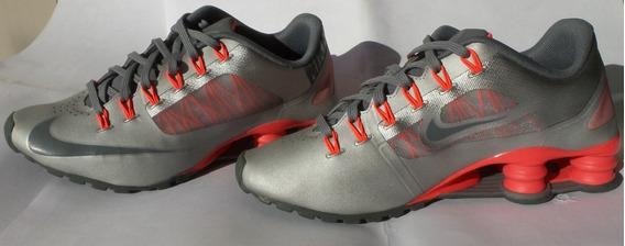 Tenis Nike Shox Superfly R4 Tamanho 36 Cinza Rosa Original