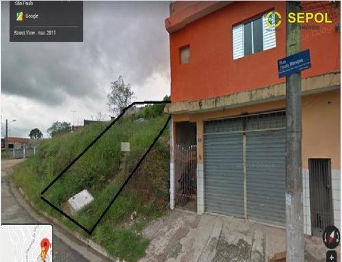 Terreno À Venda, 258 M² Por R$ 190.000,01 - Jardim Fortaleza - Guarulhos/sp - Te0103
