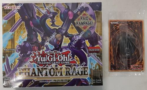 Yugioh! Yu-gi-oh! Phantom Rage Caja De 24 Sobres + Lost Art