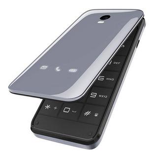 Telefone Celular Abre E Fecha 2chips Zoey Blu Flip Original