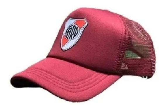 Gorra Trucker River Plate Escudo New Caps