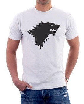 Camiseta - Game Of Throne - Casa Stark -