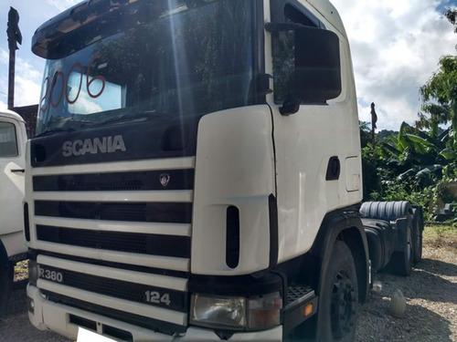 Scania R114 Ga 6x2 380 Ano 2006 Todo Revisado