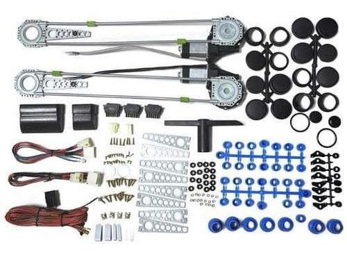 Kit Motor Eleva Vidrios Marca Multlock 6 Meses De Garantía