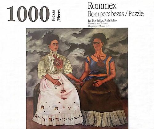 Rompecabezas De 1000 Piezas: Las Dos Fridas Por Frida Khalo
