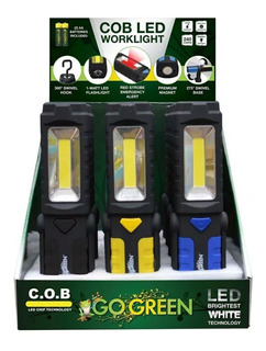 12 Lámparas Led P Emergencia, Trabajo, Magnetica 240 Lumenes