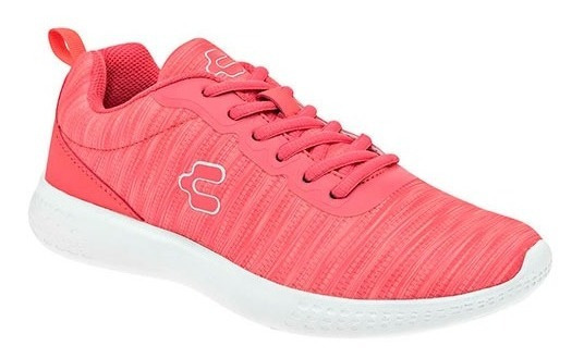 Tenis Para Dama Marca Charly 1049564 Coral Pv20