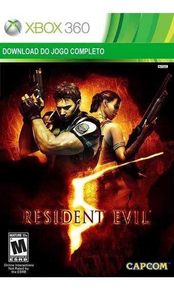 Resident Evil 5 Xbox 360 Midia Digital Original