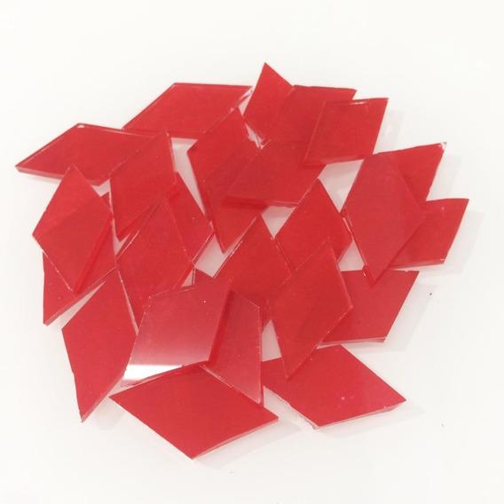Teselas Esmaltadas Rombo 2x2,5 Cm X25 Unid. Mosaiquismo Mes