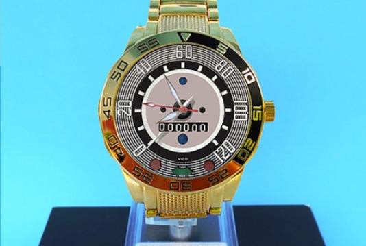 Relógio Painel Fusca 120km/hDourado
