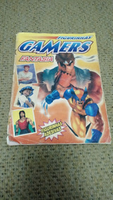 Álbum Figurinhas Incomp Gamers Fantasia Usado Frete Grátis