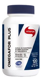 Ômegafor Plus 1000mg Com 120 Cápsulas - Vitafor