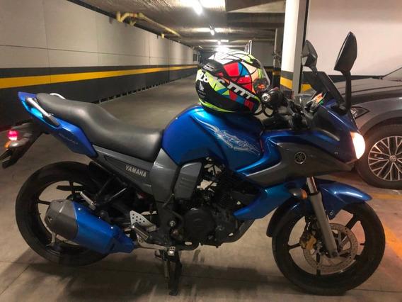 Yamaha Fazer 16 - Azul Gris