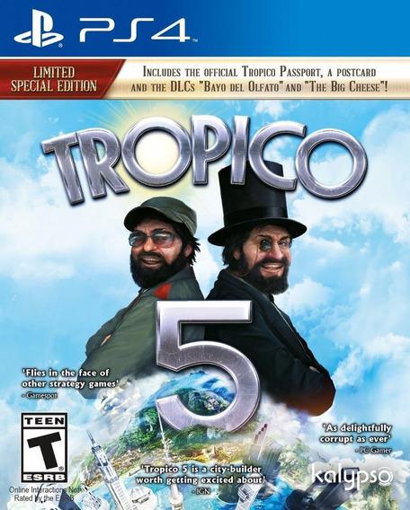 Jogo Novo Lacrado Tropico 5 Para Playstation 4 Ps4