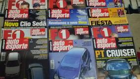 Revistas Auto Esporte Ano 2000, Mês 6,7,8,9,10,11,12