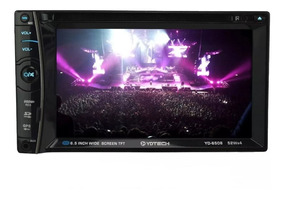 Toca Rádio Dvd Player Am Fm P/carro Mp3 Automotivo Bluetooth