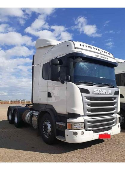 Caminhao Scania-scania R440-14/15-highline-6x2-branco