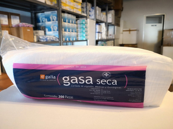 Gasa 10x10 Cm. No Estéril