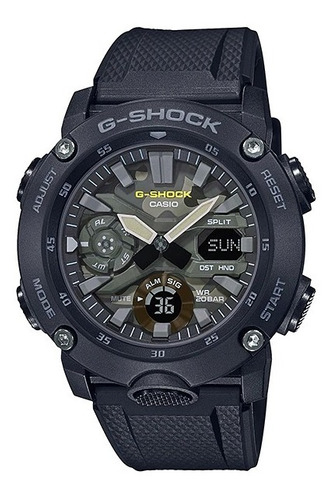 Reloj Casio G-shock Youth Ga-2000su-1 Serie Utility Color