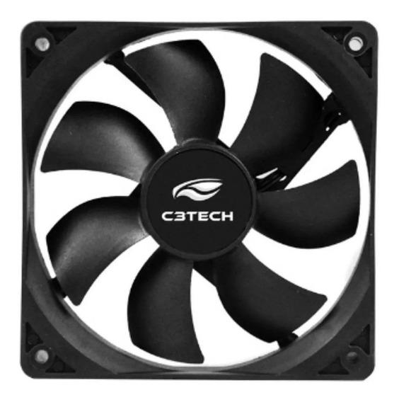 Cooler Gabinete C3tech F7-mb10bk Storm 80x80x25mm Preto