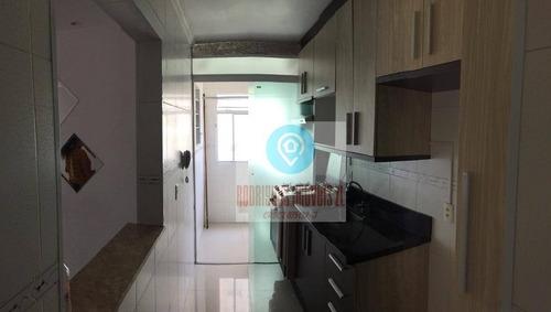 Imagem 1 de 30 de Apartamento Semi Mobiliado Com 3 Dormitórios À Venda, 57 M² Por R$ 225.000 - Jardim São Miguel - Ferraz De Vasconcelos/sp - Ap0231