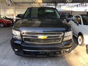 Chevrolet Suburban 5.3 Lt V8 Piel 2da Cubo At 2014 Negra