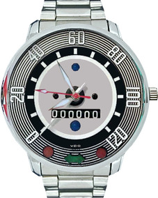 Relógio Pulso Velocímetro V.w. Fusca Antigo 120km Original