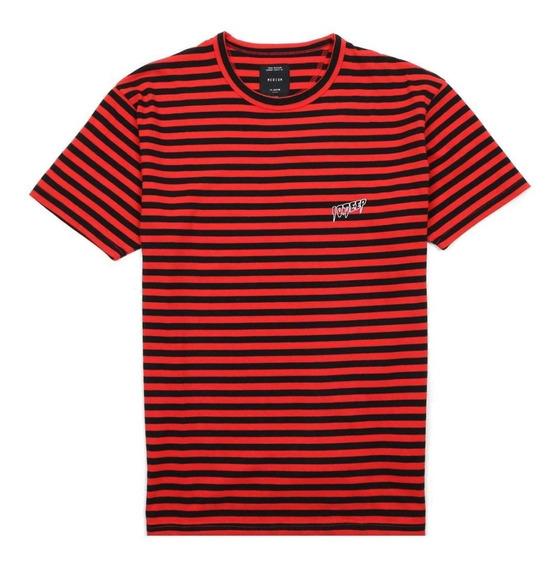 Playera 10deep Sound & Fury Stripe T Shirt Original Huf Rvca