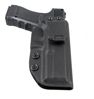 Coldre Kydex Glock 17 / 22 / 31 - Porte Velado (iwb) Destro
