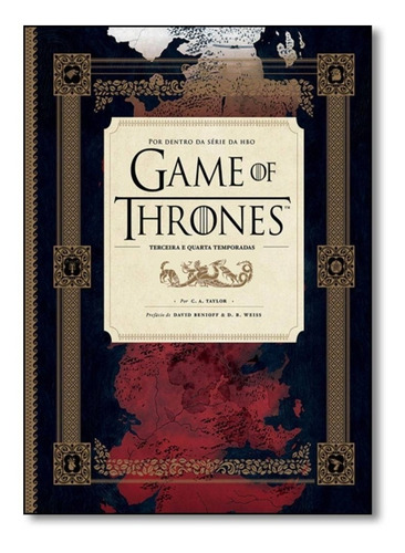 Livro Game Of Thrones Por Dentro Série Hbo 3 E 4 Temporada #