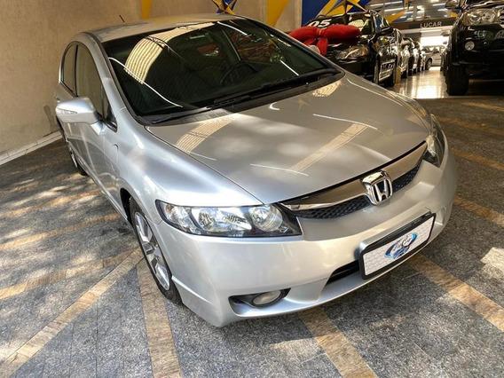 Honda Civic New Lxl 1.8 I-vtec (couro) (flex) Flex Manual