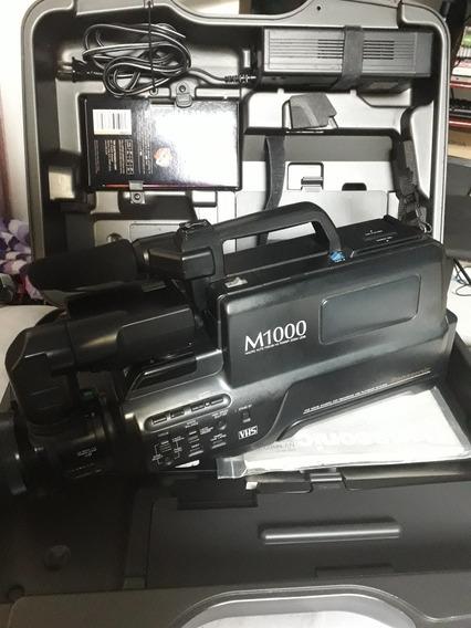 Filmadora Profissional Panasonic Nv-m1000 Vhs Impecável
