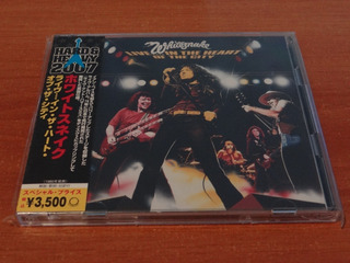 Whitesnake Live In The Heart Of + Hammersmith Japones 2 Cds