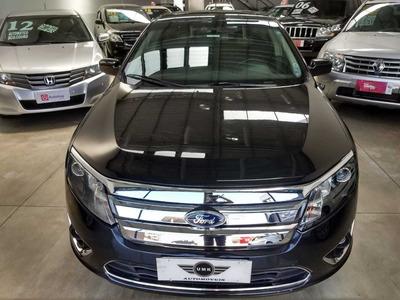 Ford Fusion Sel V6 Adw 3.0 2010 Com Teto/couro Top De Linha