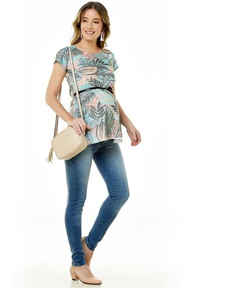 Jean Para Embarazadas Localizado (diseño Urbano-tienda Ofic