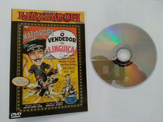 Filme Dvd Mazzaropi O Vendendor De Linguica Dvd Original