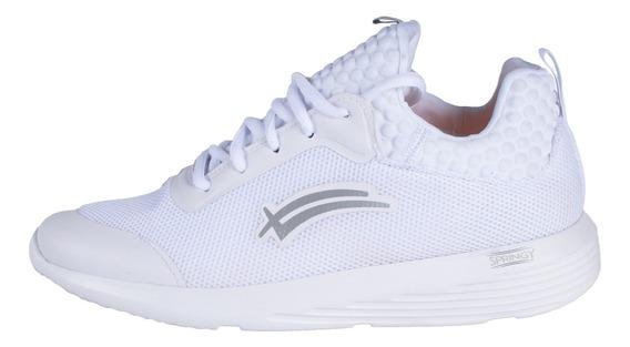 Tenis Karosso Blanco Con Suela De Eva 8422 Mujer