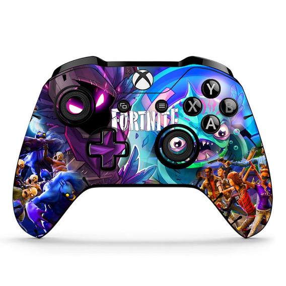 2 Skin Adesivo Controle Xbox One Fortinite