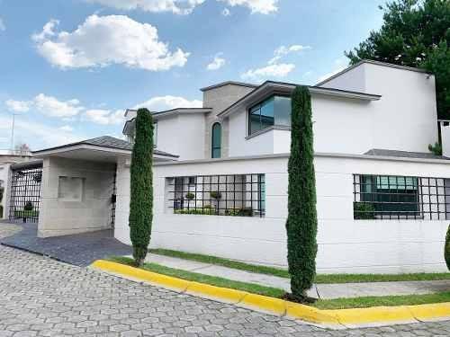 Residencia En Renta, Loma De Valle Escondido, Atizapan De Zaragoza