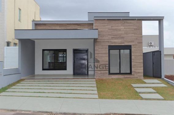 Casa Com 3 Dormitórios À Venda, 144 M² Por R$ 620.000 - Residencial Real Park Sumaré - Sumaré/sp - Ca13076