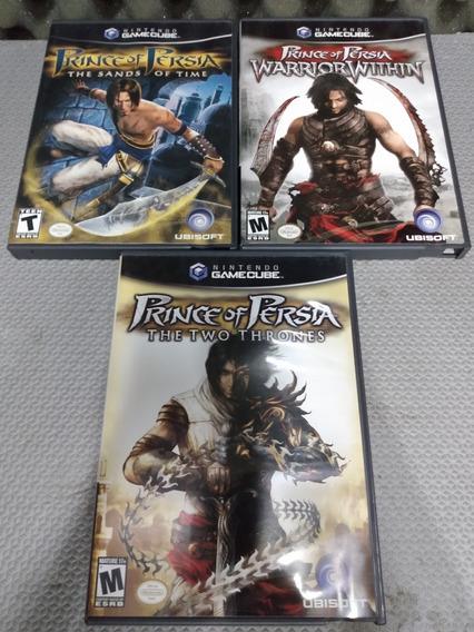 Gamecube - Coleção Prince Of Persia - Zerado