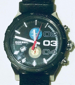 Relógio Diesel Esportivo Dz 4331 Pulseira Em Couro Original
