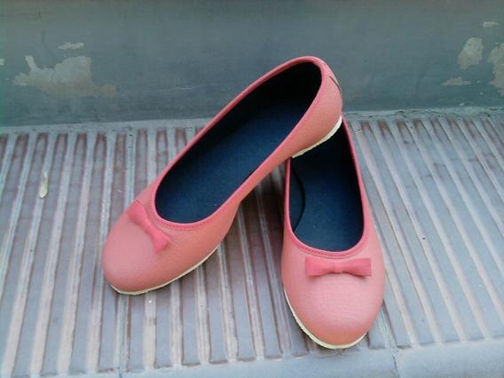Chatitas Ballerinas Ecocuero Calzado Mujer
